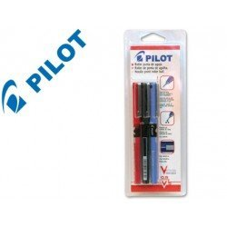 Boligrafo marca Pilot V5 azul, negro y rojo