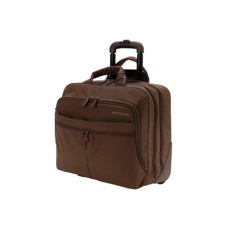 "Maletin para portatil 15.4"" Tucano Trolley color marron"