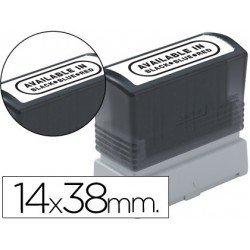 Etiquetas para sellos marca Brother 14x38 mm