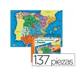 Puzzle Provincias de España a partir de 3 años de 137 piezas de Diset
