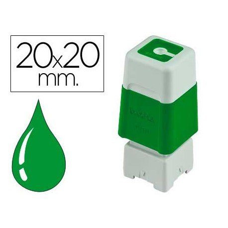 Sello Automatico marca Brother 20 x 20 verde