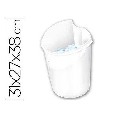 Papelera blanca Cep de 15 litros
