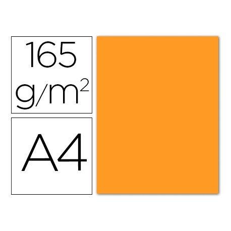Papel color Liderpapel color naranja A4 165g/m2