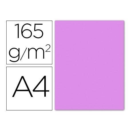 Papel color Liderpapel color lila A4 165g/m2