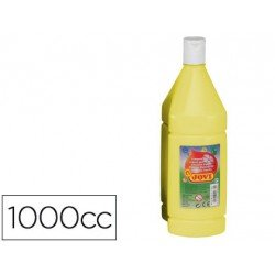 Tempera liquida JOVI color amarillo 1000 cc