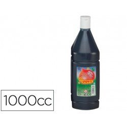 Tempera liquida JOVI color negro 1000 cc