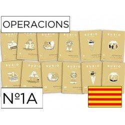 Cuaderno Rubio operaciones Nº1A Catalan
