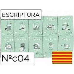 Cuaderno Rubio caligrafia Nº04 Catalan