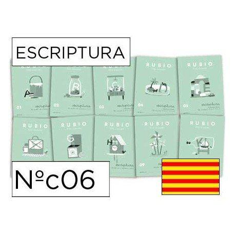 Cuaderno Rubio caligrafia Nº06 Catalan