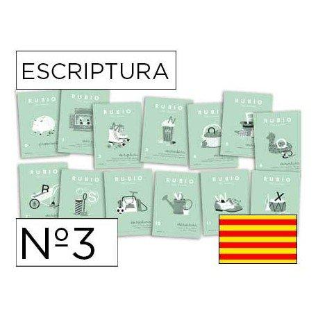 Cuaderno rubio caligrafia Nº3 catalan