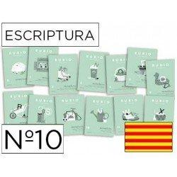 Cuaderno Rubio caligrafia Nº10 Catalan