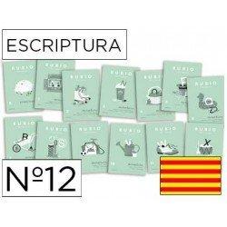 Cuaderno Rubio caligrafia Nº12 Catalan