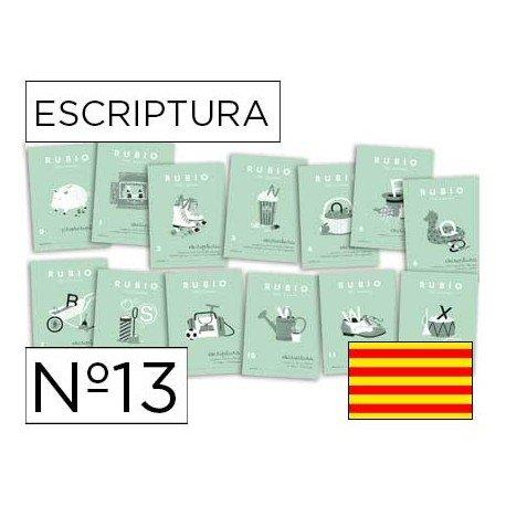 Cuaderno Rubio caligrafia Nº13 Catalan