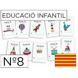 Cuaderno Rubio infantil Nº8 Catalan