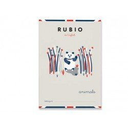 Cuaderno Rubio English animals