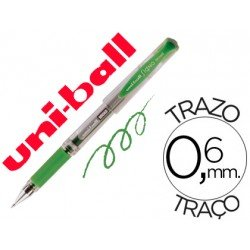Boligrafo Uni-ball 153 Signo Broad color verde 0,6 mm