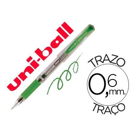 Boligrafo Uni-ball 153 Signo Broad color verde 0,6 mm