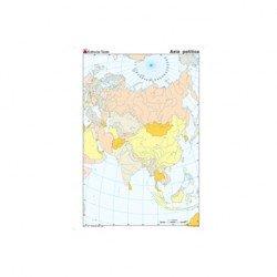 Mapa mudo de Asia politico