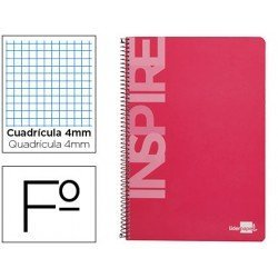 Bloc Liderpapel serie Inspire Folio rosa