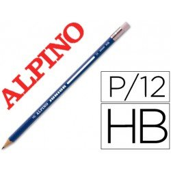 Lapices de grafito Alpino Junior HB