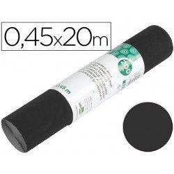 Rollo adhesivo marca Liderpapel Aironfix mate negro