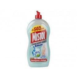 Lavavajillas a mano marca Mistol concentrado aloe vera
