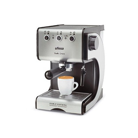 Cafetera espresso profesional marca Ufesa 2 filtros
