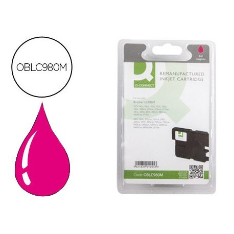 Cartucho compatible Brother OBLC980M Magenta