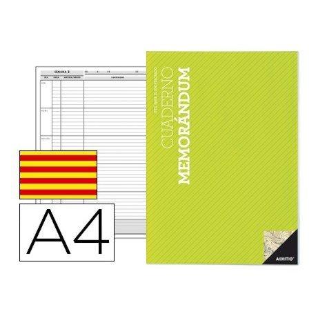 Bloc memorandum Din A4 en Catalan