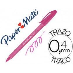 Boligrafo Paper Mate Inkjoy 100 0,4 mm rosa