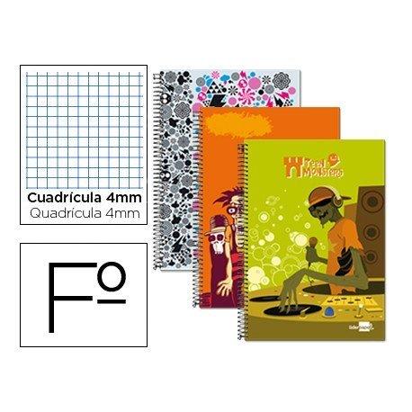 Bloc Liderpapel Folio serie Fantasia Teen Monster