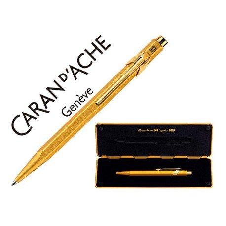 Boligrafo marca Caran d'ache 849 Goldbar 2012 estuche