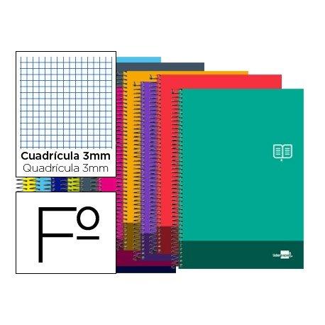 Bloc Folio marca Liderpapel serie Discover cuadricula 3 mm