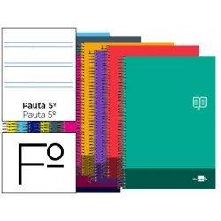 Bloc Folio marca Liderpapel serie Discover pauta 2.5 mm
