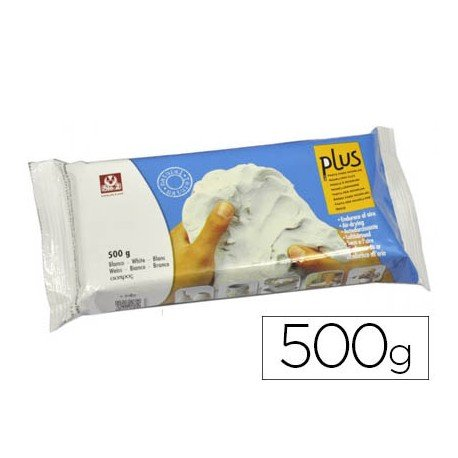 Arcilla marca Sio-2 plus color blanco 500 g