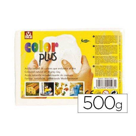 Arcilla Sio-2 Colorplus color blanco 500 g