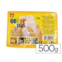 Arcilla Sio-2 Colorplus color amarillo 500 g