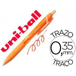 Boligrafo Uni-Ball roller SXN157C jetstream color naranja 0,35 mm