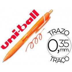 Boligrafo Uni-Ball roller SXN157C jetstream color naranja 0,35 mm