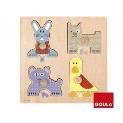 Puzzle a partir de 1 año Mamas y bebes Goula