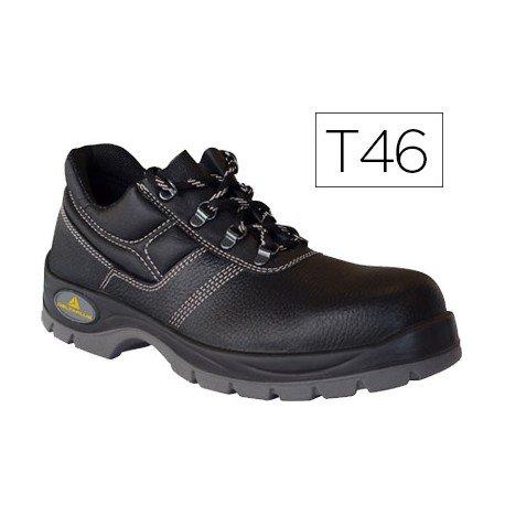 Zapatos de seguridad de Piel DeltaPlus talla 46