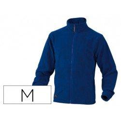 Chaqueta polar DeltaPlus color azul talla M