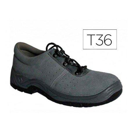 Zapatos de seguridad marca Faru talla 36