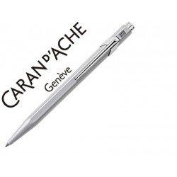 Boligrafo marca Caran d'ache 849 gris