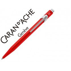 Boligrafo marca Caran d'ache 849 Rojo Trazo medio