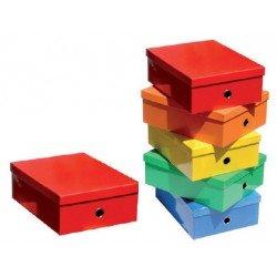 Caja Fast-Paperflow de carton forrado colores surtidos
