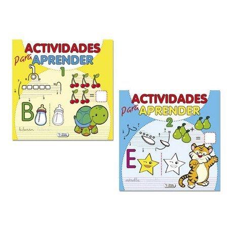 Cuaderno de actividades para Aprender 96 páginas (NO SE PUEDE ELEGIR)