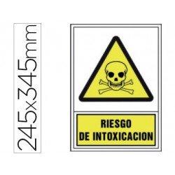 Señal marca Syssa riesgo intoxicacion