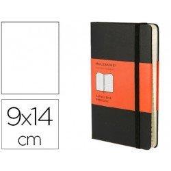 Libreta Moleskine indice color negro 9x14 cm