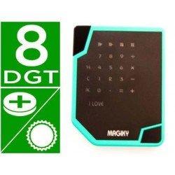 Calculadora Deslizante marca Magiky 8 digitos solar